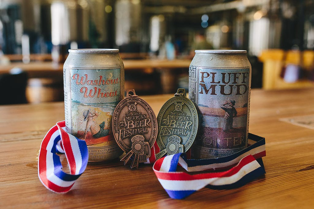 Holy City Brewing - GABF Medals