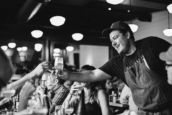 Honor Food Defend Beer (Unique Dinner and Beer Pairings w/ Chef Andrew Gerson of Brooklyn Brewery)