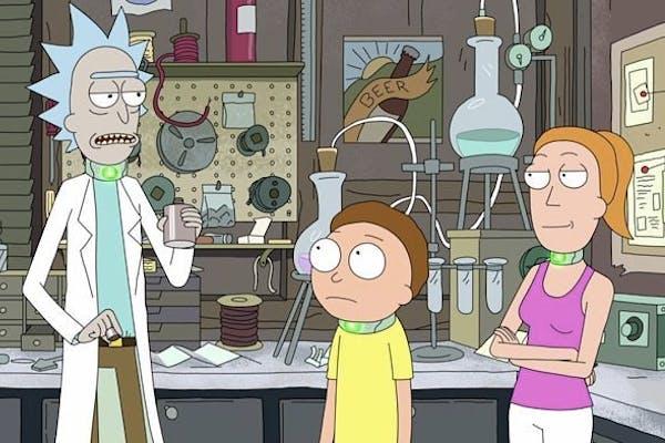 Rick and Morty Team Trivia
