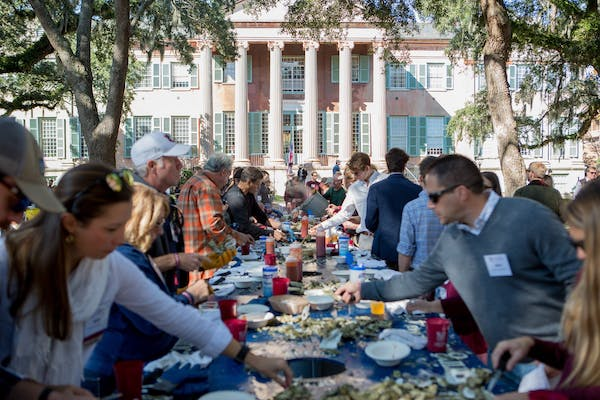 Cistern on the Half Shell: A Lowcountry Oyster Roast